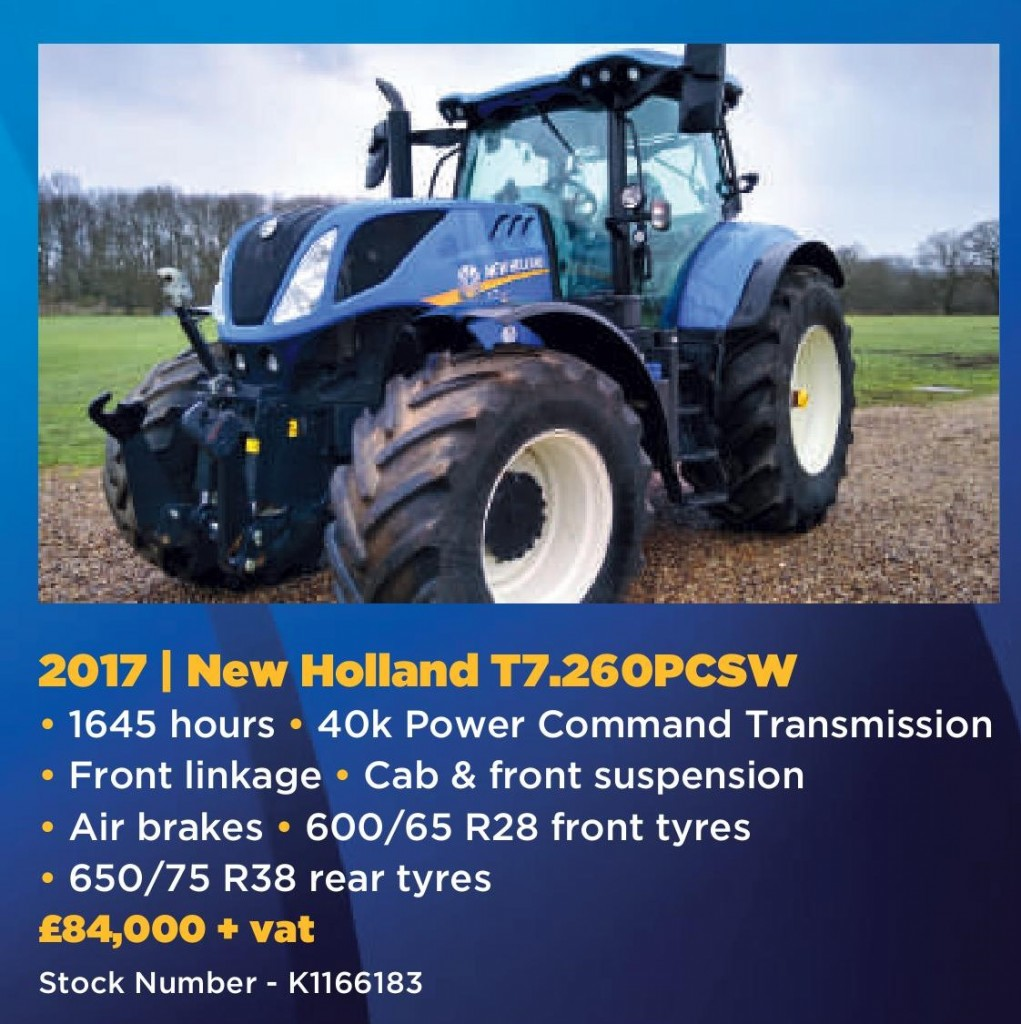 April used offers New Holland