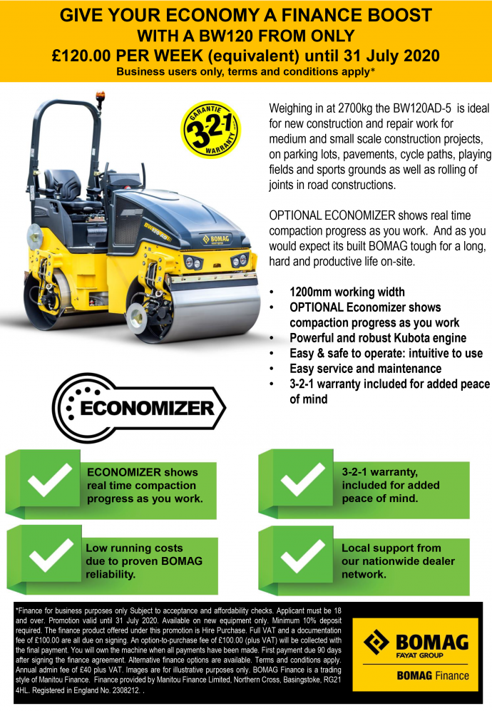 BW120 Finance Flyer