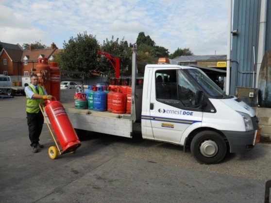 Calor Gas Delivery Van