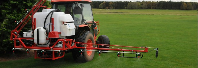 Gambetti mounted sprayer hydraulic folding