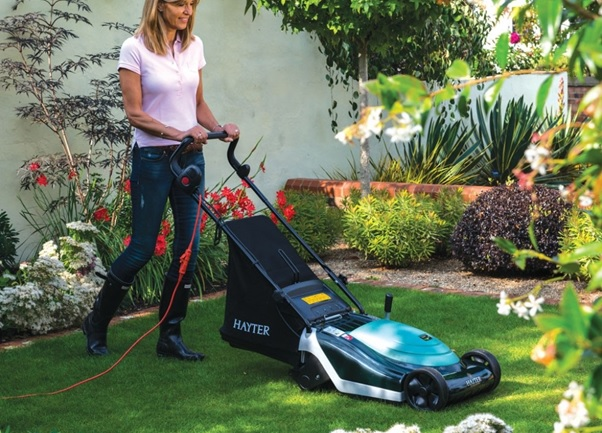 Hayter Electric Mower 2