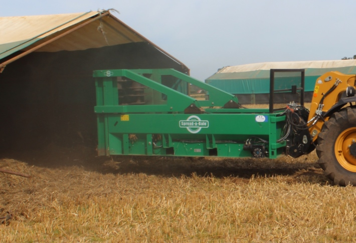 Spread-a-Bale bale spreader