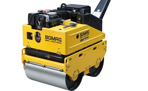 Bomag BW65H double drum vibratory roller