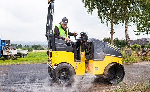 Bomag BW100SCC-5 light articulated steered tandem roller
