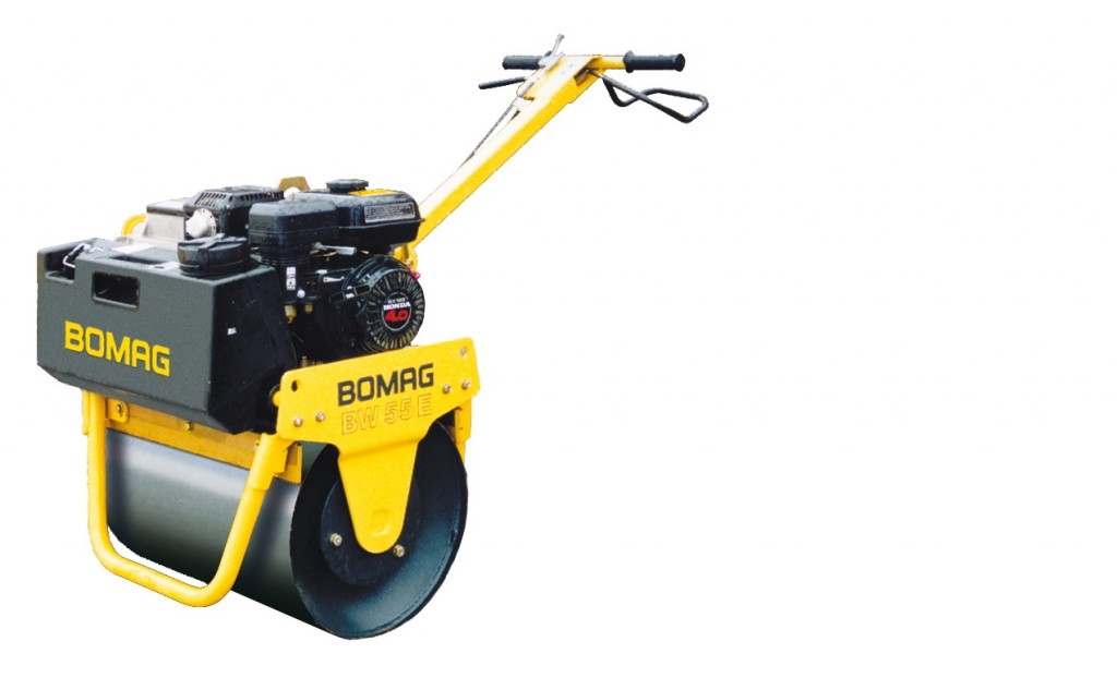 Bomag BW55E single drum vibratory roller