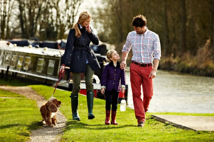 Barbour spring clothing