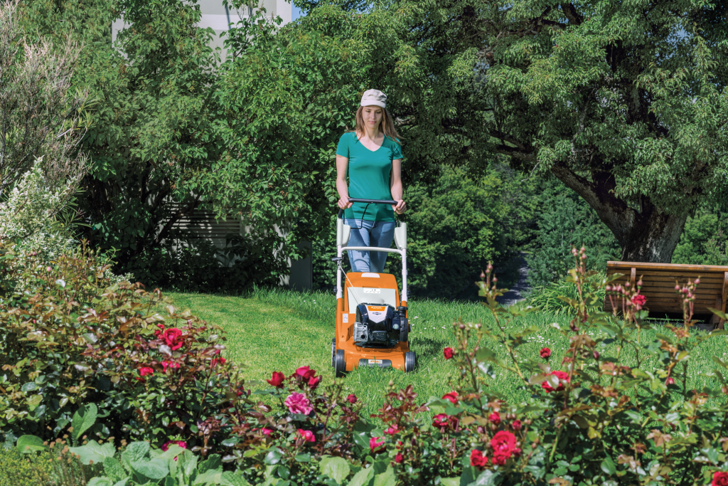 Stihl RM545 lawnmower lifestyle