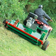 AFC 160-flail-mower-slope