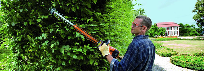 Hedge trimmers and cutters from Bosch, Stihl and Husqvarna