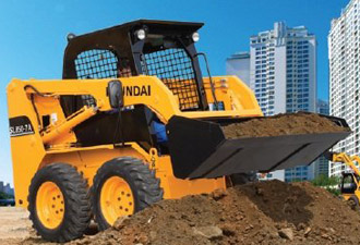 Hyundai Construction - Skid steer loaders
