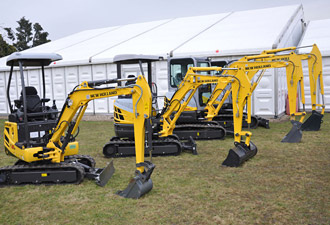 New Holland Construction - Mini and midi excavators