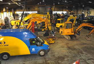 Construction Machinery Servicing