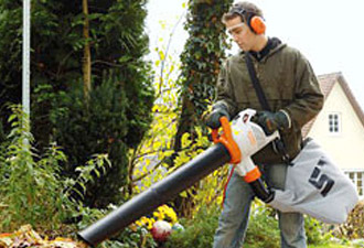 Stihl leaf blowers and vacs