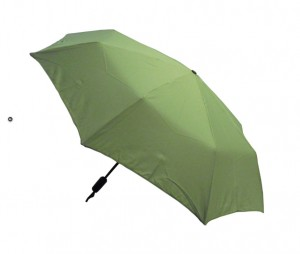 Hunter Field Green Manual Compact Umbrella