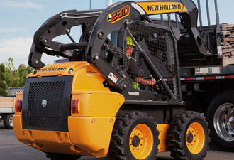 Skid steer loaders - New Holland - Construction