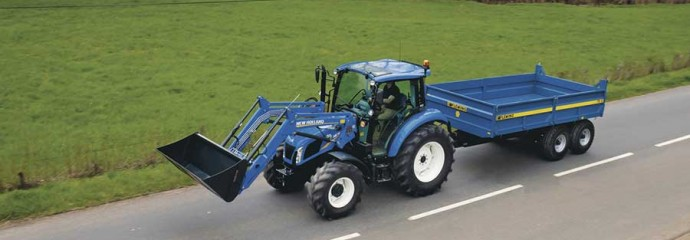 New Holland T4 - Tier 4B | Ernest Doe